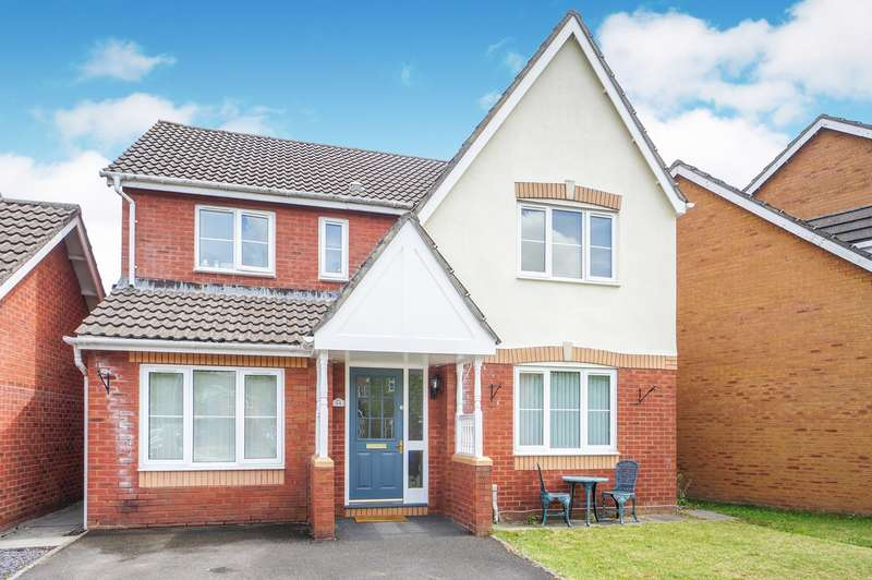 4 Bedrooms Detached House for sale in Delphinium Road, Rogerstone, Newport, NP10