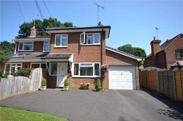 3 Bedrooms Semi Detached House for sale in Green Lane, Ellisfield, Basingstoke