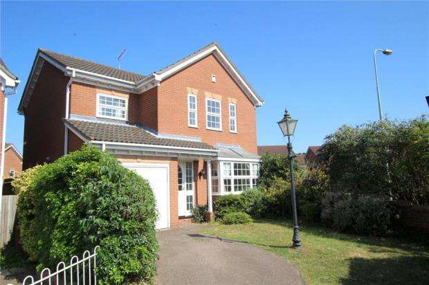 4 Bedrooms Detached House for sale in Foxglove Crescent, Purdis Farm, Ipswich