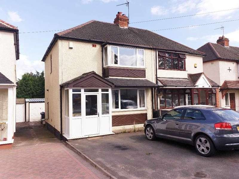 2 Bedrooms Semi Detached House for sale in Woden Road East, Wednesbury