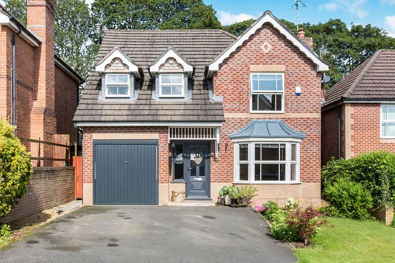 4 Bedrooms Detached House for sale in Pavilion Way, Congleton, Cheshire, CW12
