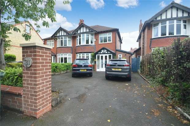 3 Bedrooms Semi Detached House for sale in Bramhall Lane, Davenport, Stockport, Cheshire