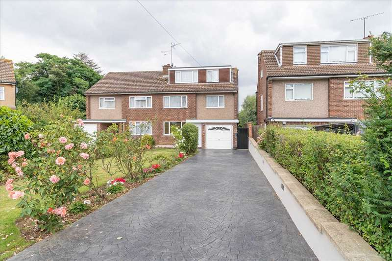 5 Bedrooms Semi Detached House for sale in Briscoe Close, Hoddesdon