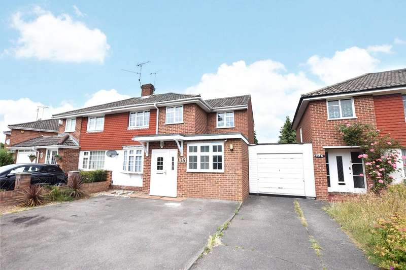 4 Bedrooms Semi Detached House for rent in Antrim Road, Woodley, Berkshire, RG5