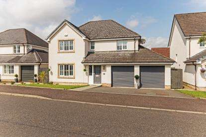 4 Bedrooms Detached House for sale in Meadowpark Crescent, Bathgate