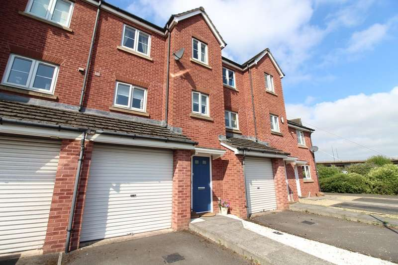 4 Bedrooms Terraced House for sale in Argosy Way, Newport, NP19