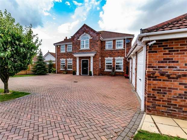 4 Bedrooms Detached House for sale in Oak Way, Heckington, Sleaford, Lincolnshire