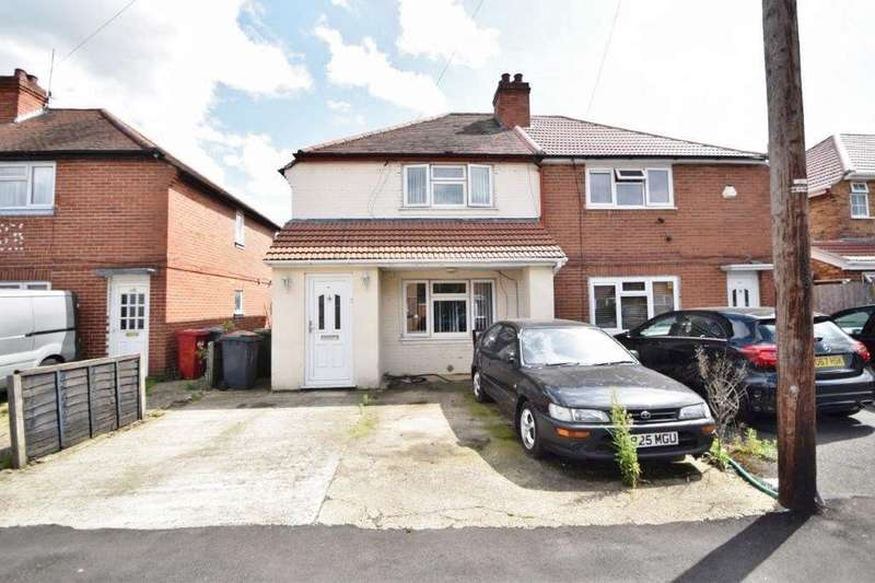 3 Bedrooms Semi Detached House for sale in Canterbury Avenue, Slough, SL2