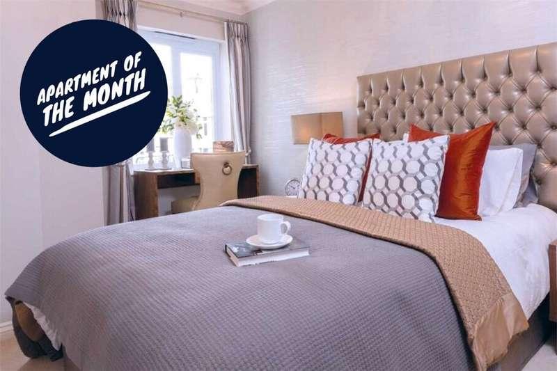 1 Bedroom Retirement Property for sale in Lewis Carroll Lodge, St. Margaret's Road, Cheltenham, Gloucsester, GL50