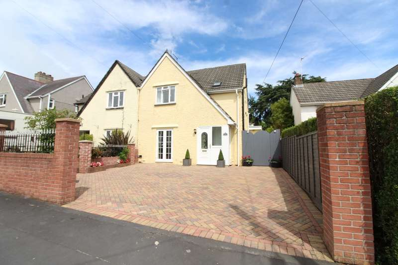 3 Bedrooms Semi Detached House for sale in The Uplands, Rogerstone, Newport, NP10