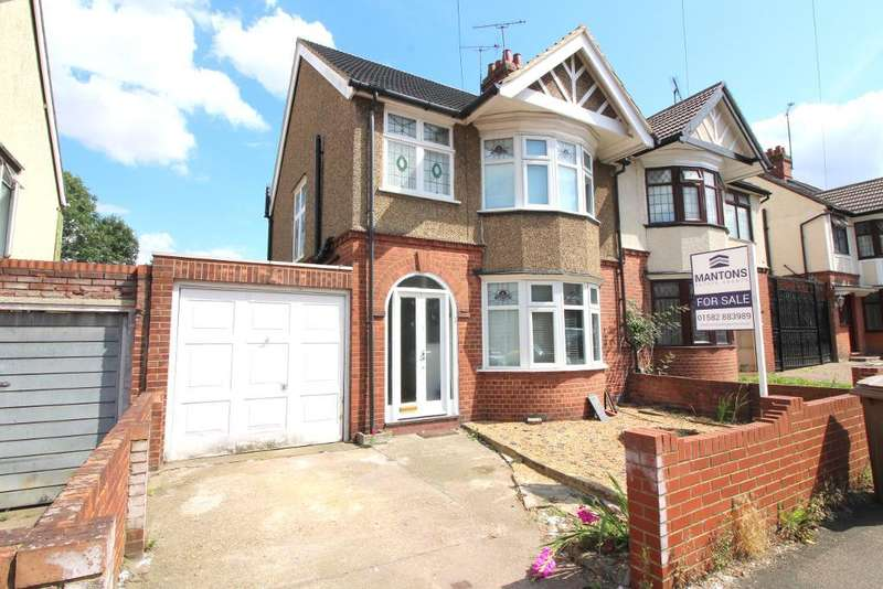 3 Bedrooms Semi Detached House for sale in Arundel Road, Luton, Bedfordshire, LU4 8DY