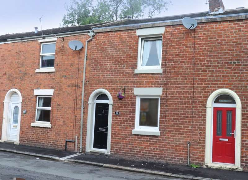 2 Bedrooms Terraced House for sale in Mill Street, Leyland, Lancashire, PR25