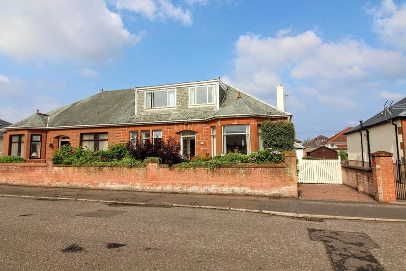 4 Bedrooms Semi Detached Bungalow for sale in Whinfield Road, Prestwick, KA9