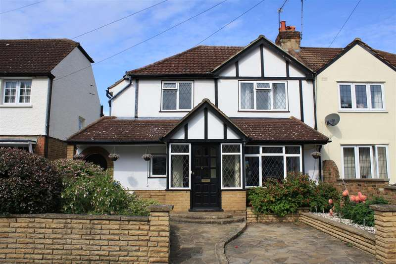 3 Bedrooms Semi Detached House for sale in Dennis Road, East Molesey