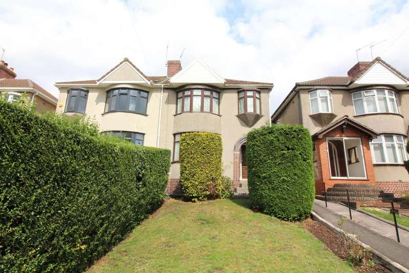 3 Bedrooms Semi Detached House for sale in Beechwood Road, Fishponds, Bristol, BS16 3TP