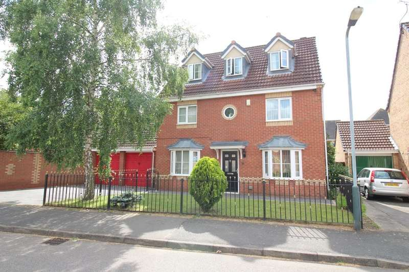 5 Bedrooms Detached House for sale in Orchid Close, Bedworth, CV12
