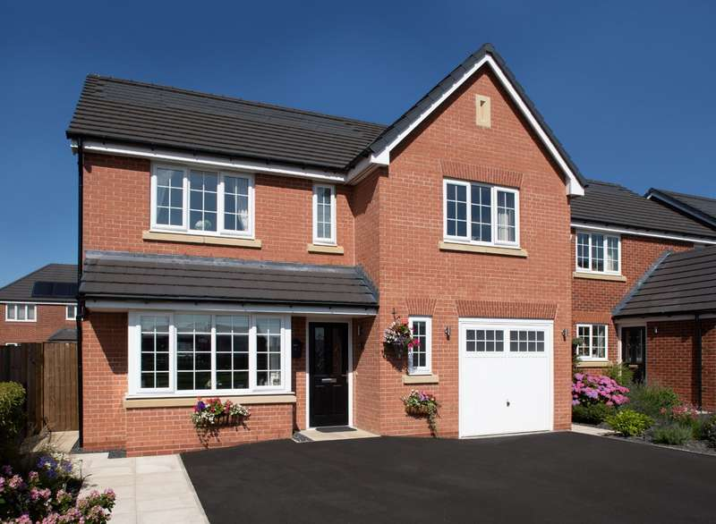 4 Bedrooms Detached House for sale in Plot 26 The Shakespeare, Calder View, Daniel Fold Lane, Catterall, PR3