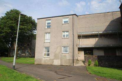 2 Bedrooms Flat for sale in Medlar Road, Abronhill
