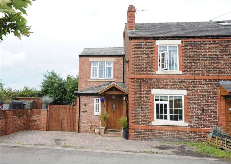 4 Bedrooms Semi Detached House for sale in Fern Bank, Holly Bush Lane, Rixton WA3 6DY