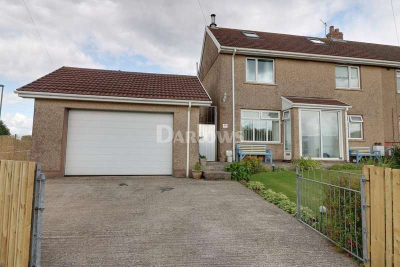3 Bedrooms Semi Detached House for sale in St Marys Road, Pontllanfraith
