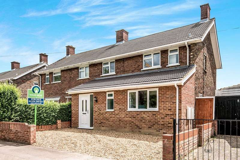 4 Bedrooms Semi Detached House for sale in Woodcote, Putnoe, Bedford, MK41