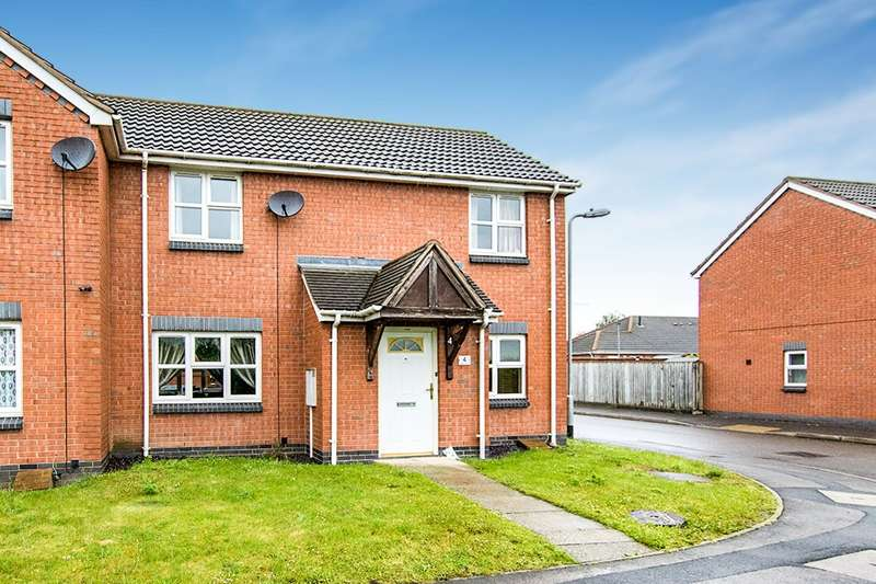 3 Bedrooms Semi Detached House for sale in Sharp Walk, North Hykeham, Lincoln, LN6