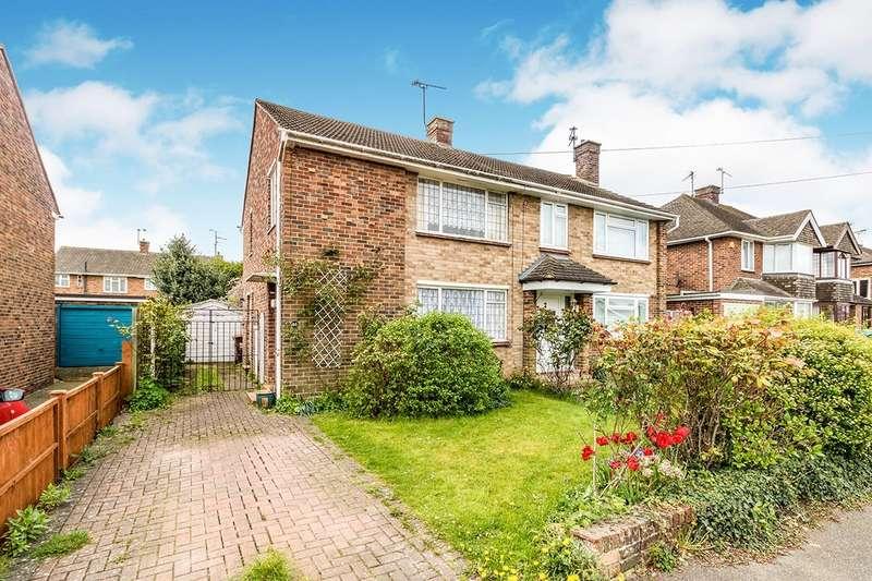 3 Bedrooms Semi Detached House for sale in Chalfont Drive, Gillingham, Kent, ME8