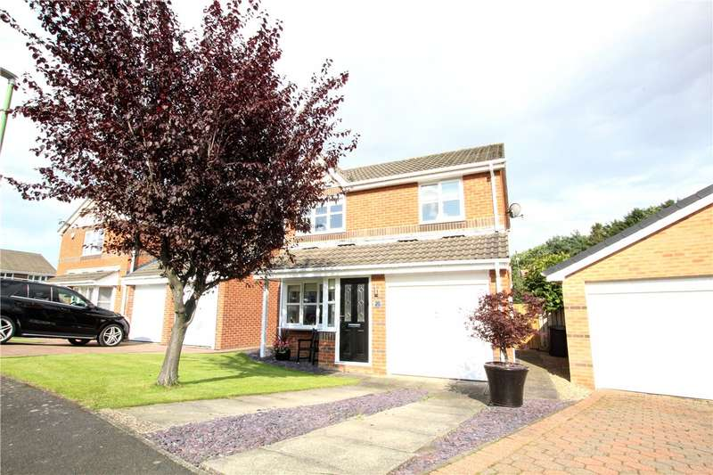 3 Bedrooms Detached House for sale in Hawkhill Close, Chester Le Street, County Durham, DH2