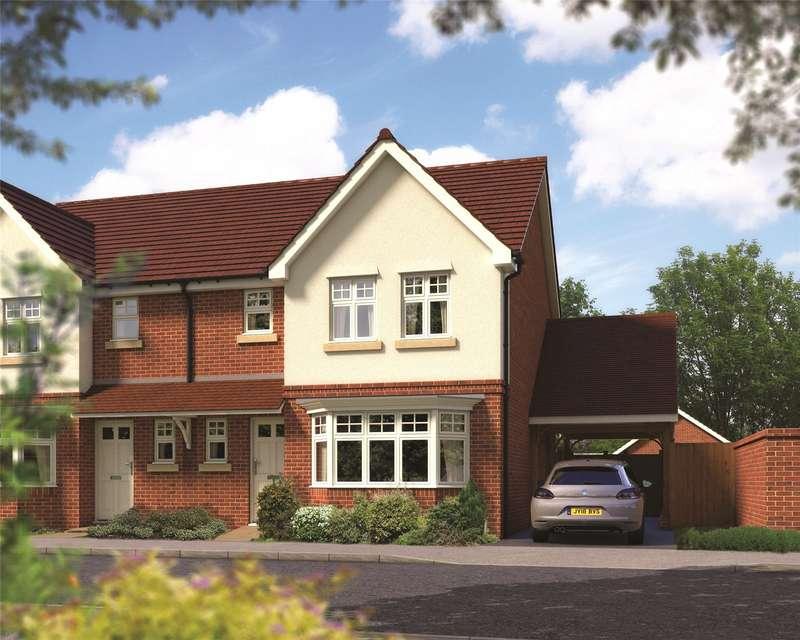 3 Bedrooms Semi Detached House for sale in Emmbrook Place, Matthewsgreen Road, Wokingham, Berkshire, RG41