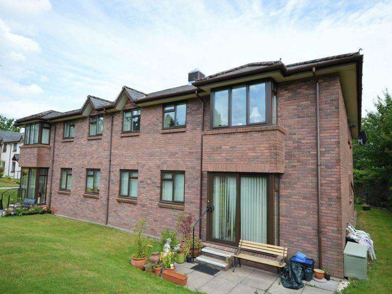2 Bedrooms Retirement Property for sale in Priory Gardens, Abergavenny