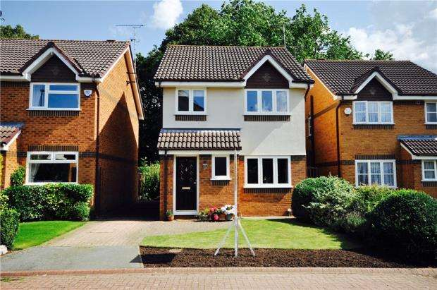 3 Bedrooms Detached House for sale in Houghton Close, Hoole, Chester