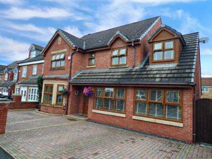 4 Bedrooms Detached House for sale in Hogarth Drive, Prenton, Merseyside, CH43