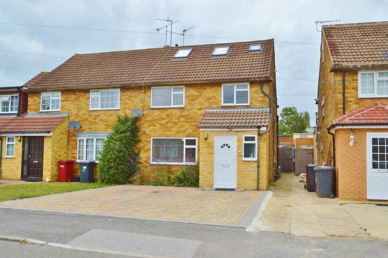 4 Bedrooms Semi Detached House for sale in Alderbury Road, Langley, SL3