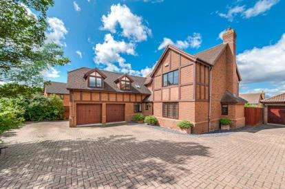 5 Bedrooms Detached House for sale in Vache Lane, Shenley Church End, Milton Keynes, Buckinghamshire