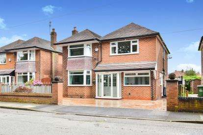 4 Bedrooms Detached House for sale in Woodhouse Lane, Sale, Cheshire, Greater Manchester