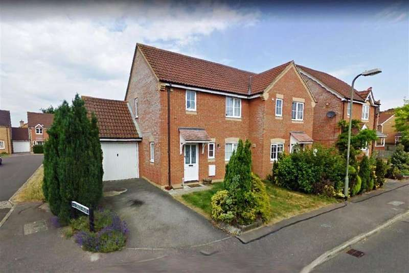 2 Bedrooms Semi Detached House for rent in Harebell Drive, RG18
