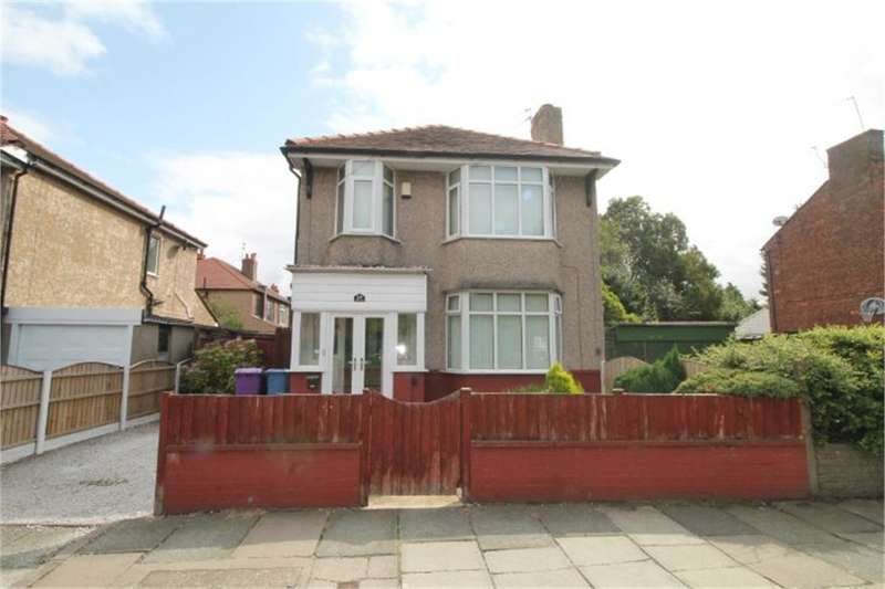 4 Bedrooms Detached House for sale in Barlows Lane, Fazakerley, LIVERPOOL, Merseyside