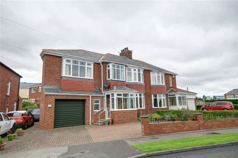 3 Bedrooms Semi Detached House for sale in Durham Moor Crescent, Framwellgate Moor, Durham, DH1