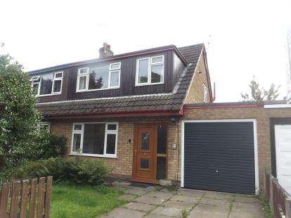 3 Bedrooms Semi Detached House for sale in Delafield Close, Fearnhead, Warrington, Cheshire, WA2