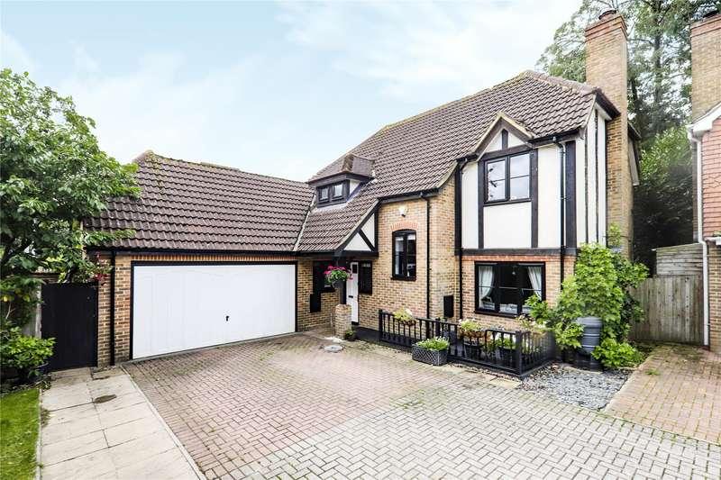 4 Bedrooms Detached House for sale in Innings Lane, Warfield, Bracknell, Berkshire, RG42