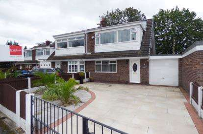 3 Bedrooms Semi Detached House for sale in Worsborough Avenue, Great Sankey, Warrington, Cheshire