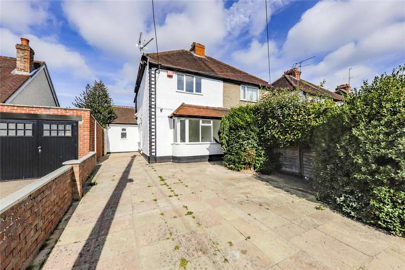3 Bedrooms Semi Detached House for sale in Hillside Road, Earley, Reading, Berkshire, RG6
