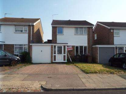 3 Bedrooms Semi Detached House for sale in Buckingham Drive, Luton, Bedfordshire