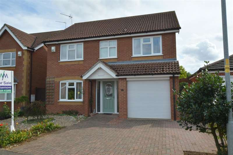 4 Bedrooms Detached House for sale in Spire View,Quarrington, Sleaford