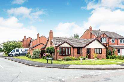 2 Bedrooms Bungalow for sale in Crawley Lane, Kings Bromley, Burton On Trent, Staffordshire