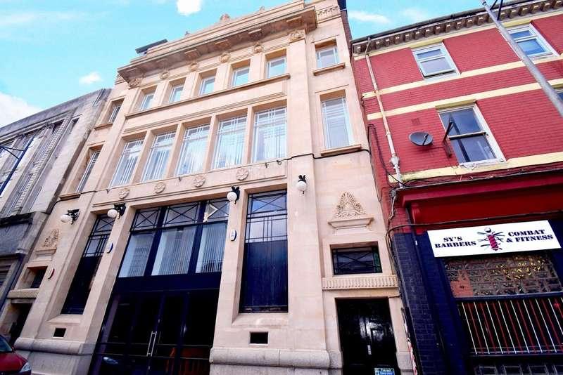 1 Bedroom Studio Flat for rent in Market Street, NEWPORT