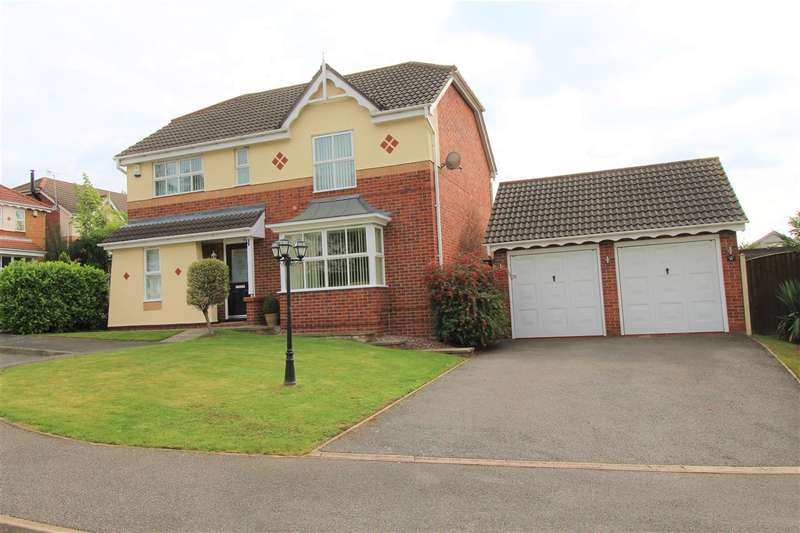 4 Bedrooms Detached House for sale in Slade Close, Ilkeston