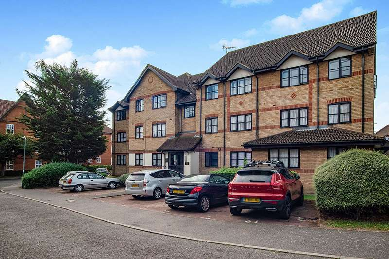 2 Bedrooms Apartment Flat for sale in Brougham Court, Hardwick Crescent, Dartford, DA2