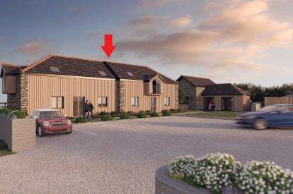 2 Bedrooms Semi Detached House for sale in Penwinnick Road, St Agnes, Truro