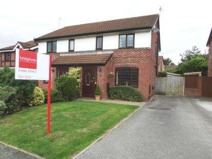 3 Bedrooms Semi Detached House for sale in Pipers Ash, Winsford, Cheshire